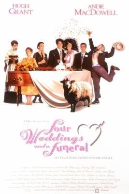 Four Weddings and a Funeral ไปงานแต่งงาน 4 ครั้ง หัวใจนั่งเฉยไม่ได้แล้ว (1994)