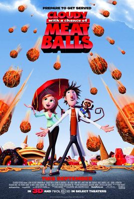 Cloudy with a Chance of Meatballs มหัศจรรย์ลูกชิ้นตกทะลุมิติ 1 (2009)