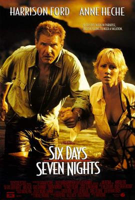 Six Days Seven Nights 7 คืนหาดสวรรค์ 6 วันอันตราย (1998)
