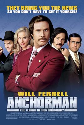 Anchorman1: The Legend of Ron Burgundy ประกาศรบ…แต่ดั้นนมาพบรัก ภาค1 (2004)