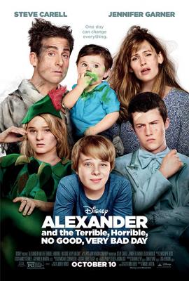Alexander and the Terrible, Horrible, No Good, Very Bad Day อเล็กซานเดอร์กับวันมหาซวยห่วยสุดๆ (2014)