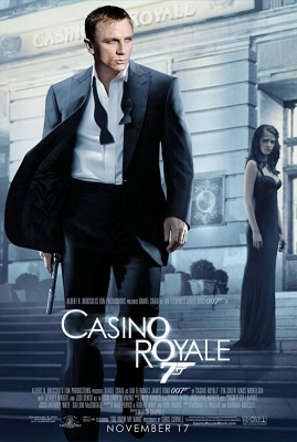 Casino Royale 007 พยัคฆ์ร้ายเดิมพันระห่ำโลก (James Bond 007 ภาค 21) (2006)