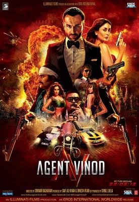 Agent Vinod เอเจ้นท์ วิโนท พยัคฆ์ร้าย หักเหลี่ยมจารชน (2012)