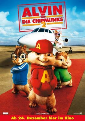 Alvin and the Chipmunks อัลวินกับสหายชิพมังค์จอมซน ภาค 2 (2009)