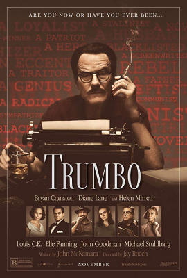 Trumbo ทรัมโบ เขียนฮอลลีวู้ดฉาว (2015)