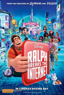 Ralph Breaks the Internet: Wreck-It Ralph 2 (2018) ราล์ฟตะลุยโลกอินเทอร์เน็ต: วายร้ายหัวใจฮีโร่ 2