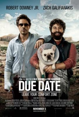 Due Date คู่แปลก ทริปป่วน ร่วมไปให้ทันคลอด (2010)