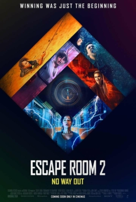 Escape Room: Tournament of Champions กักห้อง เกมโหด 2: กลับสู่เกมสยอง (2021) ซับไทย